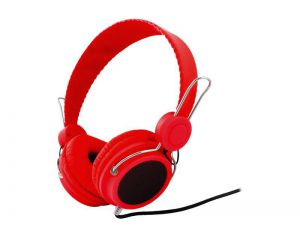 Słuchawki LTC 57 czerwone