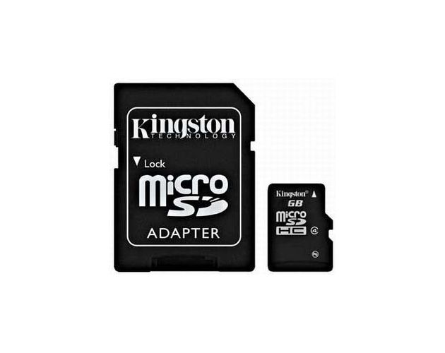 Karta Pamięci Kingston 4GB MicroSD Class 10 + Adapter