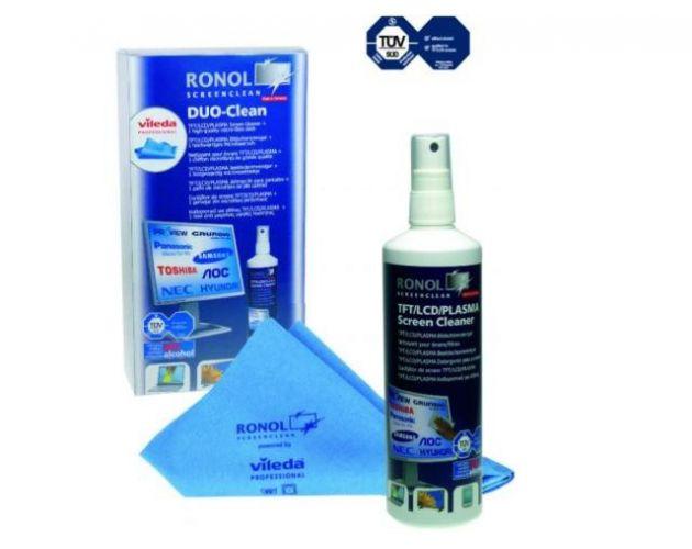 Ronol TFT DUO-CLEAN (125ML) + Ściereczka VILEDA
