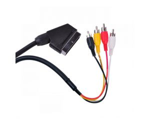 Kabel EURO - 4x RCA 1,2m