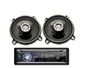 Radio Samochodowe Voice Kraft VK 8618 Bluetooth MP3 USB + Głośniki 5 Cale