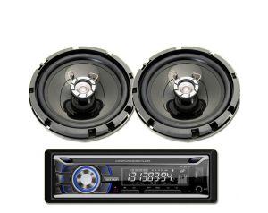 Radio Samochodowe Voice Kraft VK 8618 Bluetooth MP3 USB + Głośniki 6,5 Cale