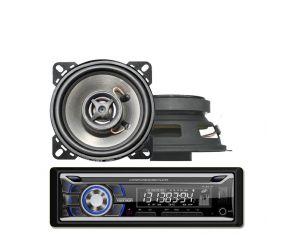 Radio Samochodowe Voice Kraft VK 8618 Bluetooth MP3 USB + Głośniki 4 Cale