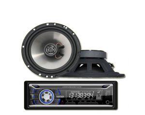Radio Samochodowe Voice Kraft VK 8618 Bluetooth MP3 USB + Głośniki 6,5 Cali