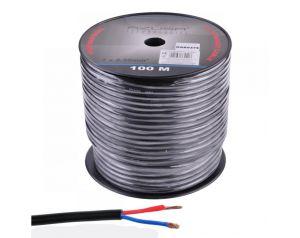 Kabel Głośnikowy okrągły 2x2,5mm