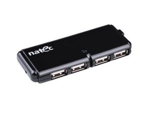 Hub USB 4- Porty Natec CATERPILLAR USB 2.0