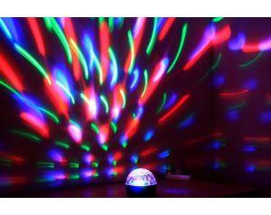 Kula LED z 3 kolorowymi efektami