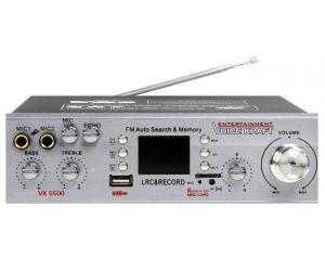 Wzmacniacz z USB SD FM Voice Kraft VK 5500