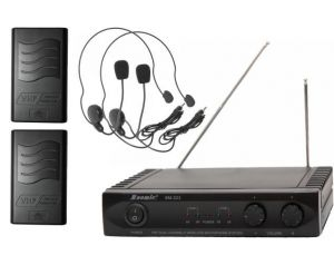 Mikrofony Bezprzewodowe Nagłowne BM-223N