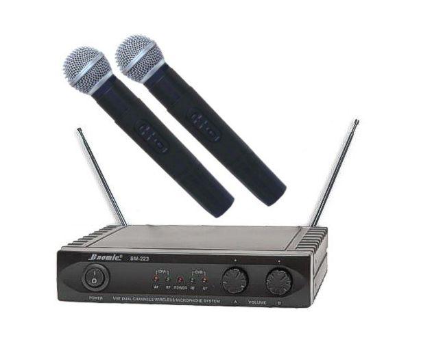 Mikrofony Bezprzewodowe do Ręki BM-223R