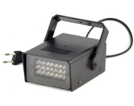 Stroboskop LED 25W niebieski