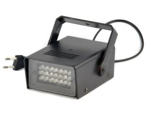 Stroboskop LED 25W czerwony