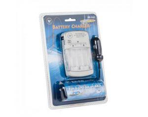 Ładowarka akumulatorków z zasilaczem samochodowym
