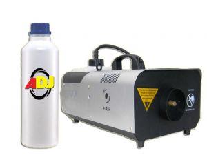 Wytwornica Dymu Flash FLZ-2000 + Płyn dymu 1L + Zapach