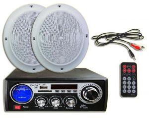 Wzmacniacz Voice Kraft MA-003 + Głosniki Sufitowe