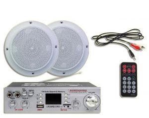 Wzmacniacz Voice Kraft VK 5500+ Głosniki Sufitowe