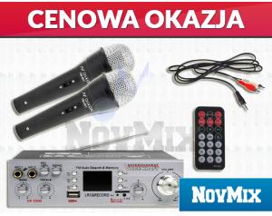 Wzmacniacz Voice Kraft VK 5500 + Mikrofony KARAOKE