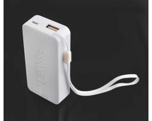 Bateria zewnętrzna POWER BANK 5200mAh biały