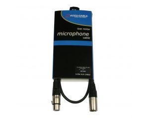 Kabel XLR M - XLR F 1m