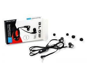 Słuchawki BLOW B-11 BLACK douszne z mikrofonem