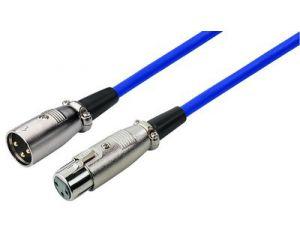 Kabel połączeniowy 0,7m XLR F - XLR M