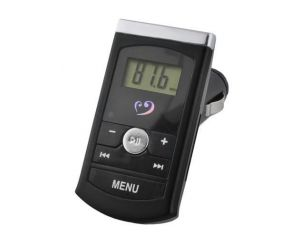 Transmiter FM LCD czarny MP3 USB SD