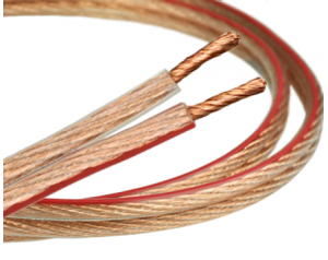 Kabel Głośnikowy 2x2,5mm CCA 1m