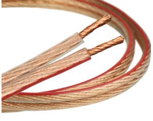 Kabel Głośnikowy 2x4mm CCA 1m