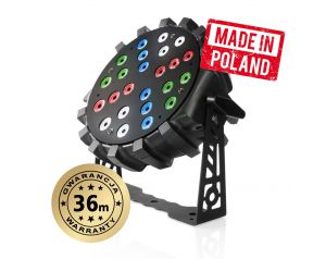 LED PAR 64 SLIM 24x3W RGBW