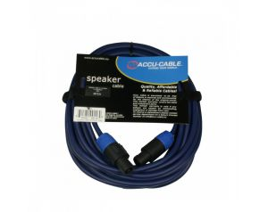 Przewód głośnikowy SPEAKON - niebieski 10m