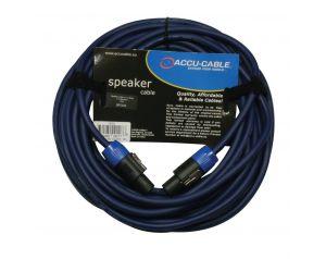 Przewód głośnikowy SPEAKON - niebieski 15m