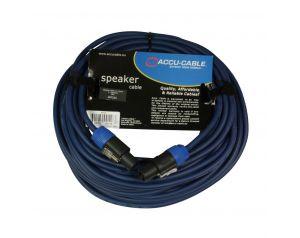Przewód głośnikowy SPEAKON - niebieski 20m