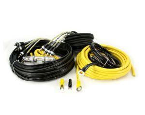 Hollywood CCA-48 zestaw kabli do samochodowego wzmacniacza