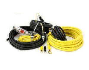 Hollywood PRO-28 - zestaw kabli OFC do samochodowego wzmacniacza