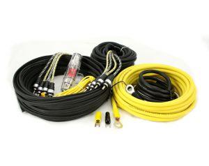 Hollywood PRO-48 - zestaw kabli OFC do samochodowego wzmacniacza