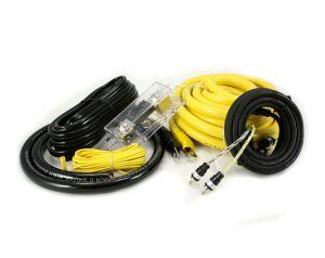 Hollywood CCA-20 zestaw kabli do samochodowego wzmacniacza