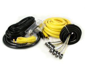 Hollywood CCA-40 zestaw kabli do samochodowego wzmacniacza