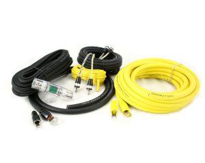 Hollywood PRO-24 - zestaw kabli OFC do samochodowego wzmacniacza