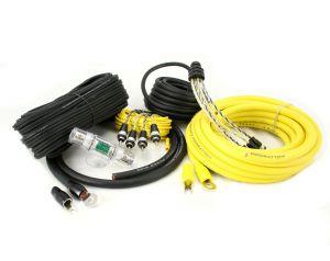 Hollywood PRO-44 - zestaw kabli OFC do samochodowego wzmacniacza