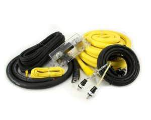 Hollywood PRO-20 - zestaw kabli OFC do samochodowego wzmacniacza