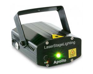 Laser zielono-czerwony BeamZ Multipoint Apollo