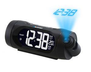 Radiobudzik z projektorem i ładowaniem USB Blaupunkt CRP9BK