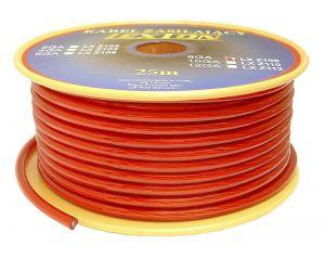 Kabel zasilający 8GA/6.7mm CCA, 5m czarny
