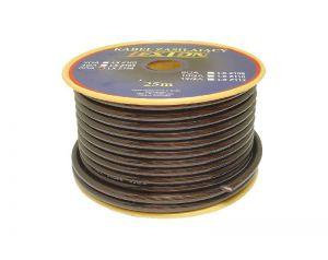 Kabel zasilający 8GA/6.7mm CCA, 5m czerwony