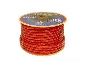 Kabel zasilający 6GA/8mm CCA, 5m czarny