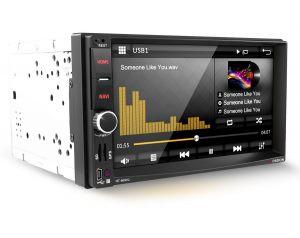 Radio samochodowe HT-869V2 7''/2 DIN/GPS/Bluetooth/ miniUSB/microSD/4x45W