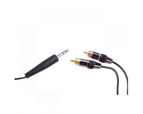 Kabel JACK 6,3mm - 2 RCA 3m