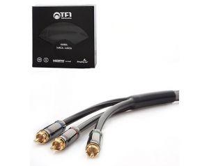 Kabel 3 RCA - 3 RCA 1,8m TF1