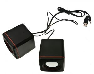Głośniki Komputerowe K19B Music USB , Mały Jack