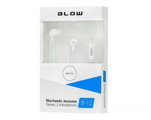 Słuchawki Douszne BLOW B-12 WHITE